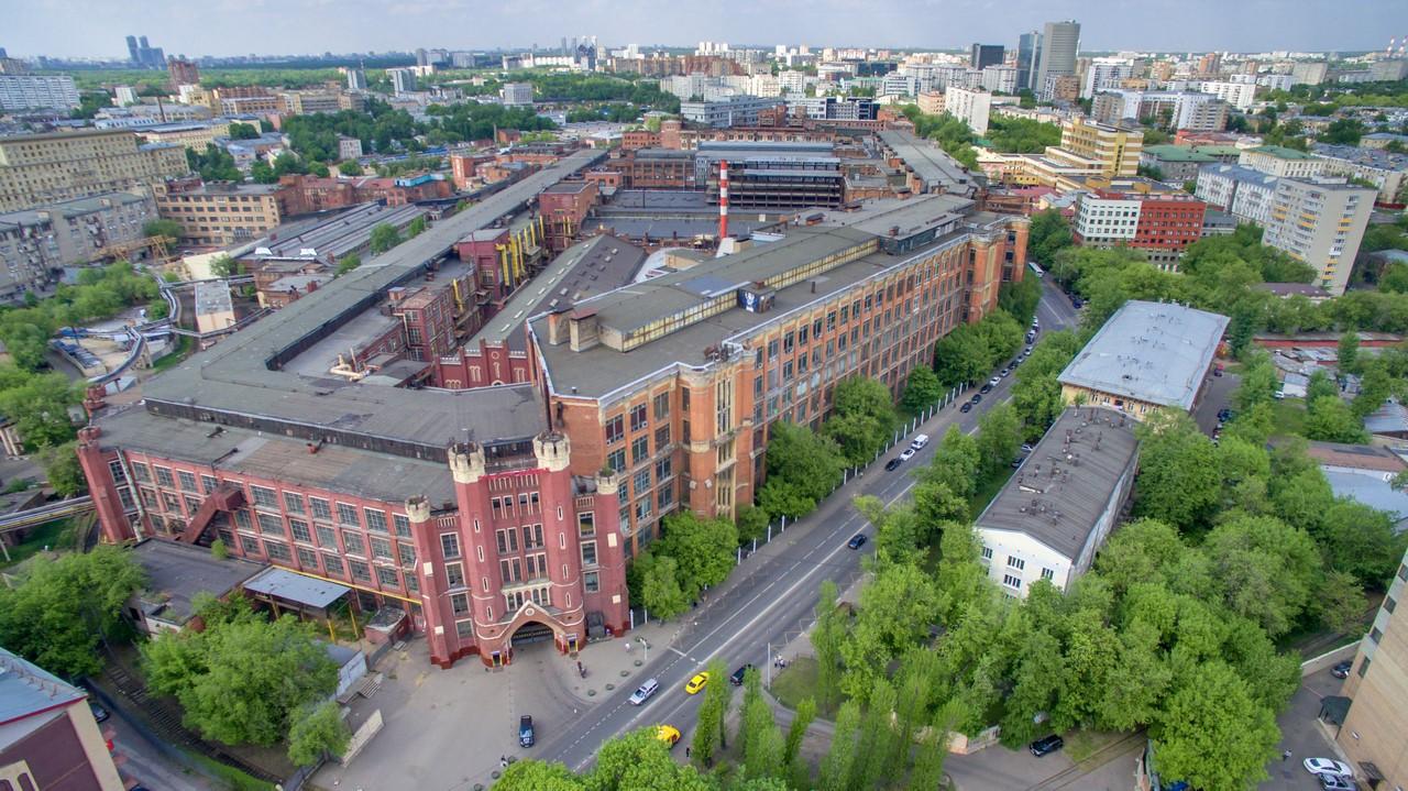 Исторические фабрики Москвы