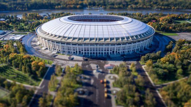 Стадион проведения Первенства Мира по футболу 2018 ЛужникиFIFA World Cup 2018 Stadium Luzhniki
