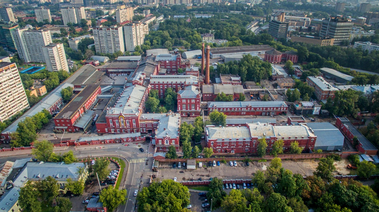 """Корпуса Московского завода """"Кристалл"""""""