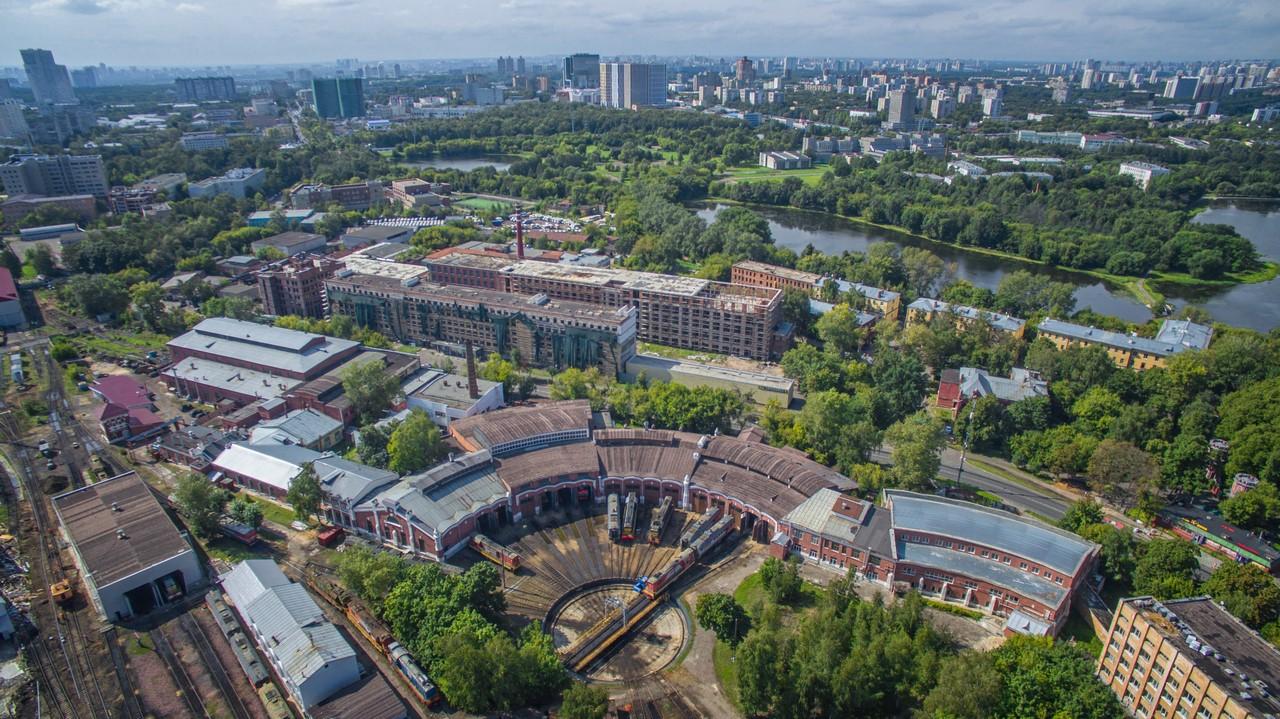 Веерное депо. Михалковская 59