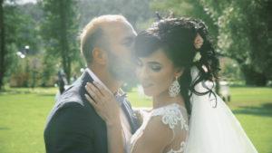 Свадебная церемония в усадьбе Остров