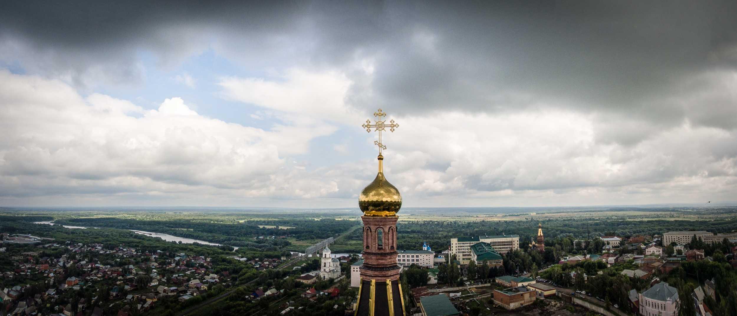 Купол Свято-Троицкий монастырь